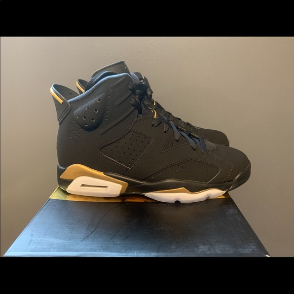 Black And Gold Retro Jordan 6s | Poshmark